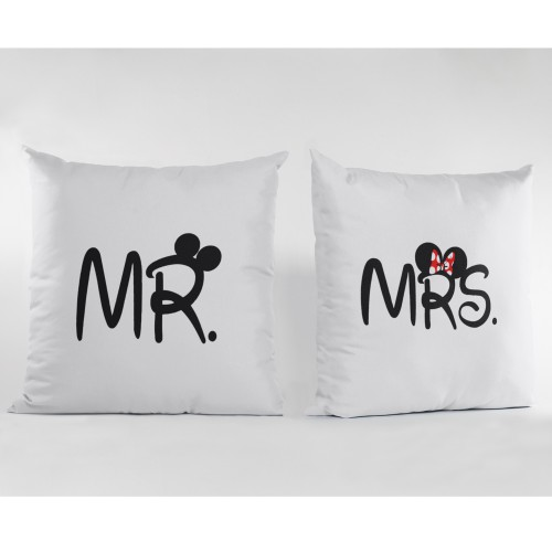 Set de 2 perne personalizate MR./MRS.