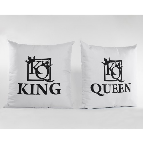 Set de 2 perne personalizate KING/QUEEN